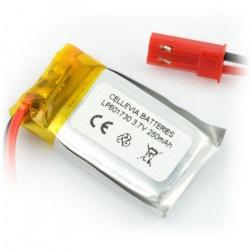 Ogniwo LiPol 250mAh 20C 1S 3.7V