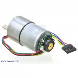 Silnik z przekładnią 37Dx52L mm 19:1 + enkoder CPR 64