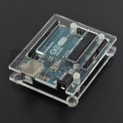 Obudowa do Arduino Uno i Leonardo - przezroczysta slim