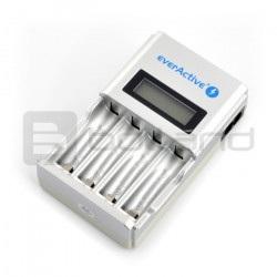 Ładowarka akumulatorów everActive NC-450 - AA, AAA