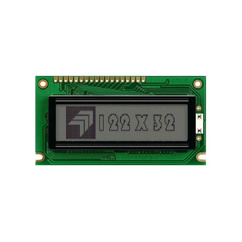Wyświetlacz graficzny 122x32 - niebieski LGMFD12232G6PFLW