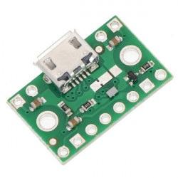 Złącze zasilające microUSB z multiplekserem FPF1320