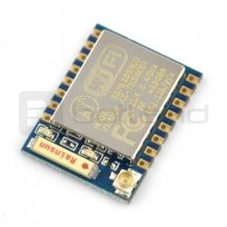 Moduł WiFi ESP-07 ESP8266 - 9 GPIO, ADC, ceramiczna antena + złącze u.FL