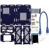 CloudShell dla Odroid XU4 - elementy do budowy serwera plików NAS - niebieski - zdjęcie 2