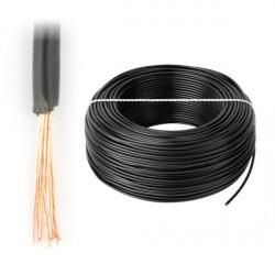 Przewód instalacyjny LgY 1x0,5 H05V-K - czarny - 1m