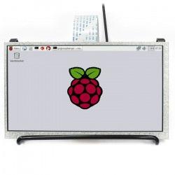 Ekran LCD IPS 7'' 1024x600px DPI dla Raspberry Pi 3/2/Zero/Zero W