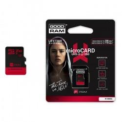 Karta pamięci Goodram IRDM microSD 64GB 280MB/s UHS-II U3 z adapterem