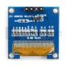 Wyświetlacz OLED niebieski graficzny 0,96'' 128x64px I2C - zdjęcie 3