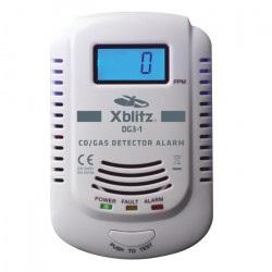 Czujnik czadu i gazu - Xblitz CO / GAS Alarm DG3-1