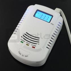 Detektor czujnik tlenku węgla i gazu - DETC02