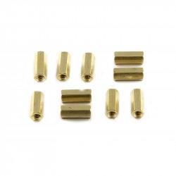 MakeBlock - dystans mosiężny M4x16 - 10szt.
