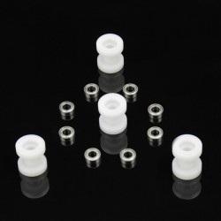 MakeBlock - zestaw krążków nylonowych z łożyskami - 4szt.