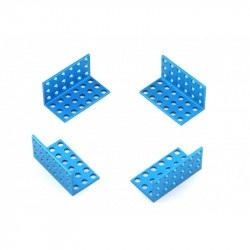 MakeBlock - uchwyt 3x6 - niebieski - 4szt.