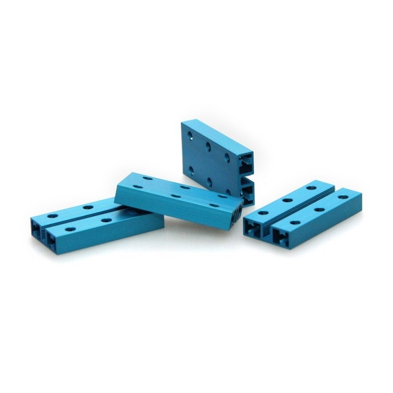 MakeBlock 60008 - belka 0824-048 - niebieski - 4szt.