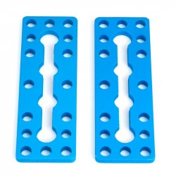MakeBlock 61234 - płytka 0324-072 - niebieski - 2szt.