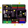 DFRobot Gravity: IO Expansion & Motor Driver Shield dla Arduino 12V/1,2A - zdjęcie 5