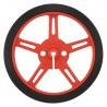 Koła Pololu 60x8mm - czerwone - zdjęcie 2