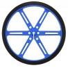 Koła Pololu 90x10mm - niebieskie - zdjęcie 2