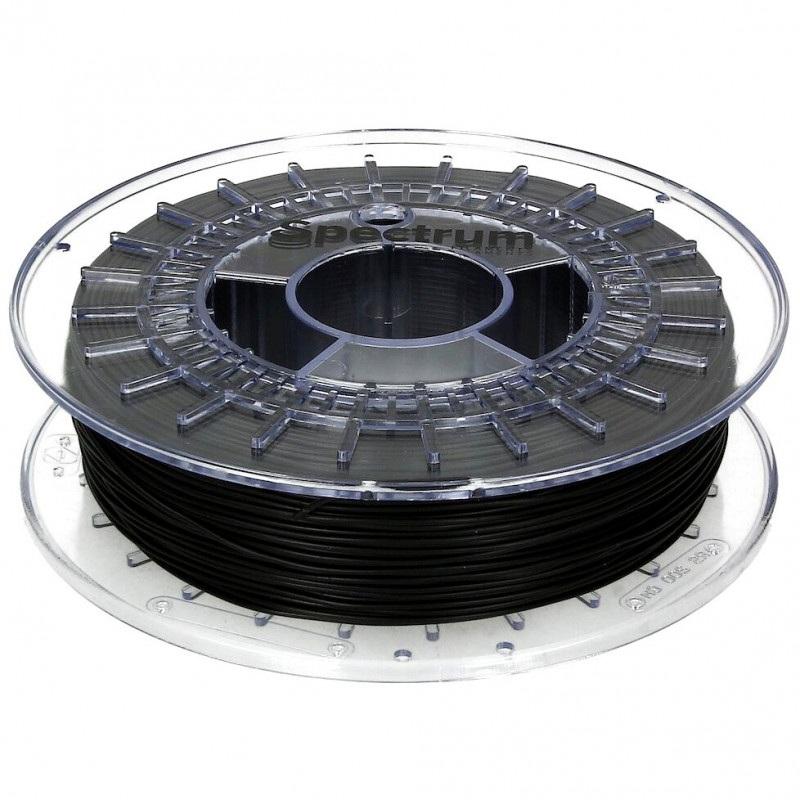 Filament Spectrum Rubber 1,75mm 0,5 kg  - Deep Black
