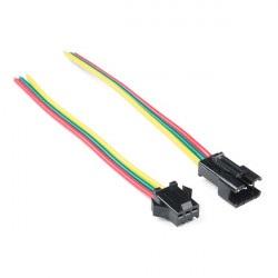 Konektor do taśm i pasków LED JST-SM (3-pin)