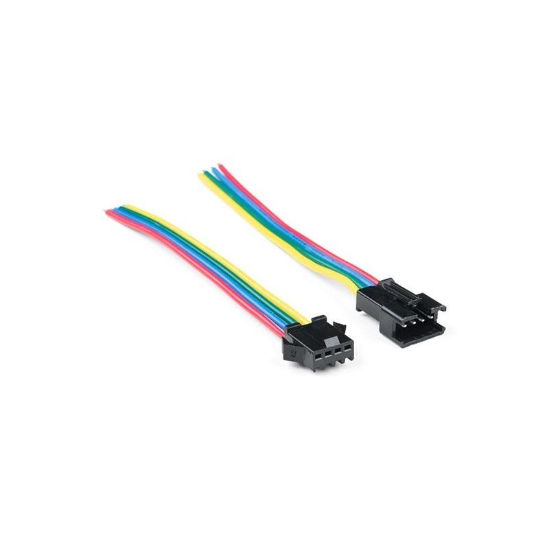 Konektor do taśm i pasków LED JST-SM (4-pin)