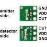 Analogowy czujnik odległości 4-30cm - Sharp GP2Y0A41SK0F  - zdjęcie 3