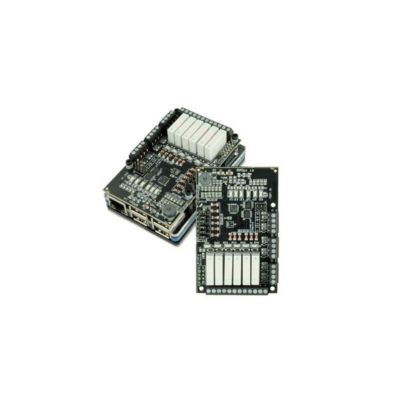 BasPi-IO - nakładka Raspberry Pi do automatyzacji budynku