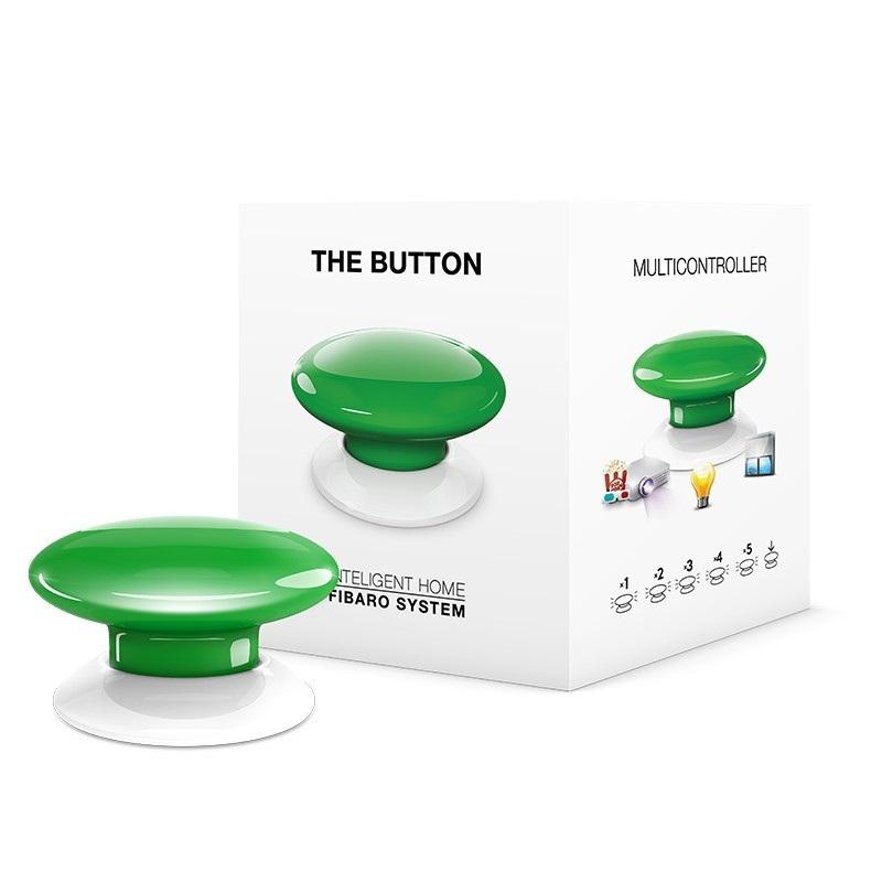 Fibaro Button - przycisk automatyki domowej - żółty