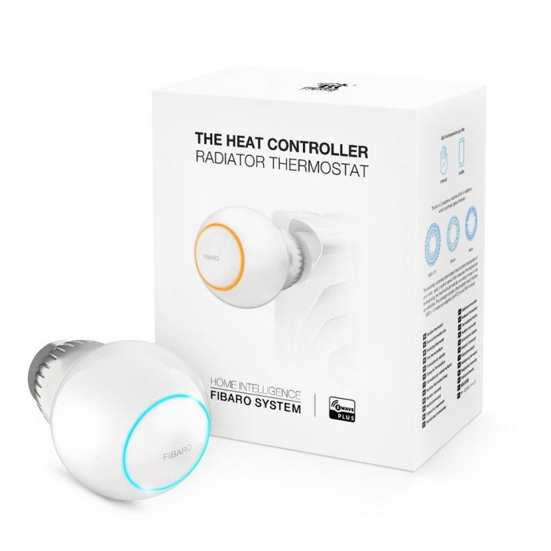 Fibaro Heat Controller FGT-001 - inteligentna głowica termostatyczna Z-Wave