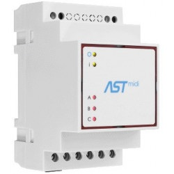 ASTmidi - zegar astronomiczny na szynę DIN - 3 x wyjście  230V / 5A