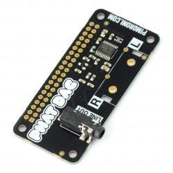 pHAT DAC - karta dźwiękowa do Raspberry Pi 3B+/3/2/B+/A+/Zero