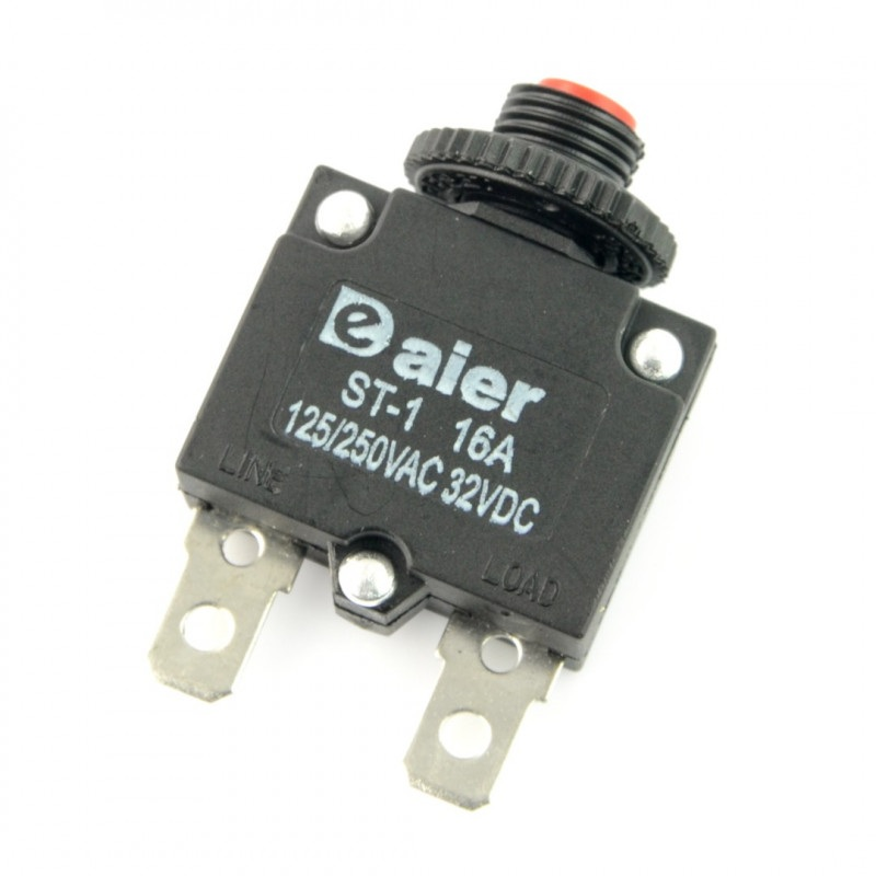 Wyłącznik nadprądowy - termobimetaliczny MR1 16A
