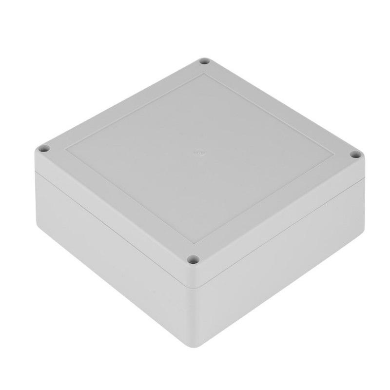 Obudowa plastikowa Kradex ZP150 J PC z uszczelką i mosiężnymi tulejkami IP67 - 150x150x60mm jasna
