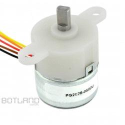 Silnik krokowy PG2528-0502U przekładnią 76:1 5V 0.2A