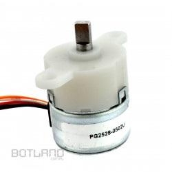 Silnik krokowy z przekładnią PG1521-0504B 5V 0.4A 0,2Nm