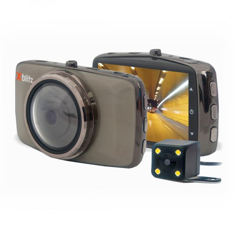 Rejestrator Xblitz Dual Core - kamera samochodowa + kamera cofania