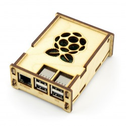 Obudowa drewniana Raspberry Pi Model 3/2/B+