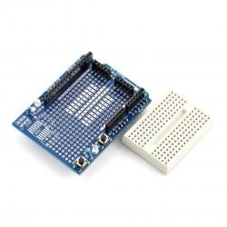 Arduino Uno Proto Shield + płytka stykowa 170 otworów