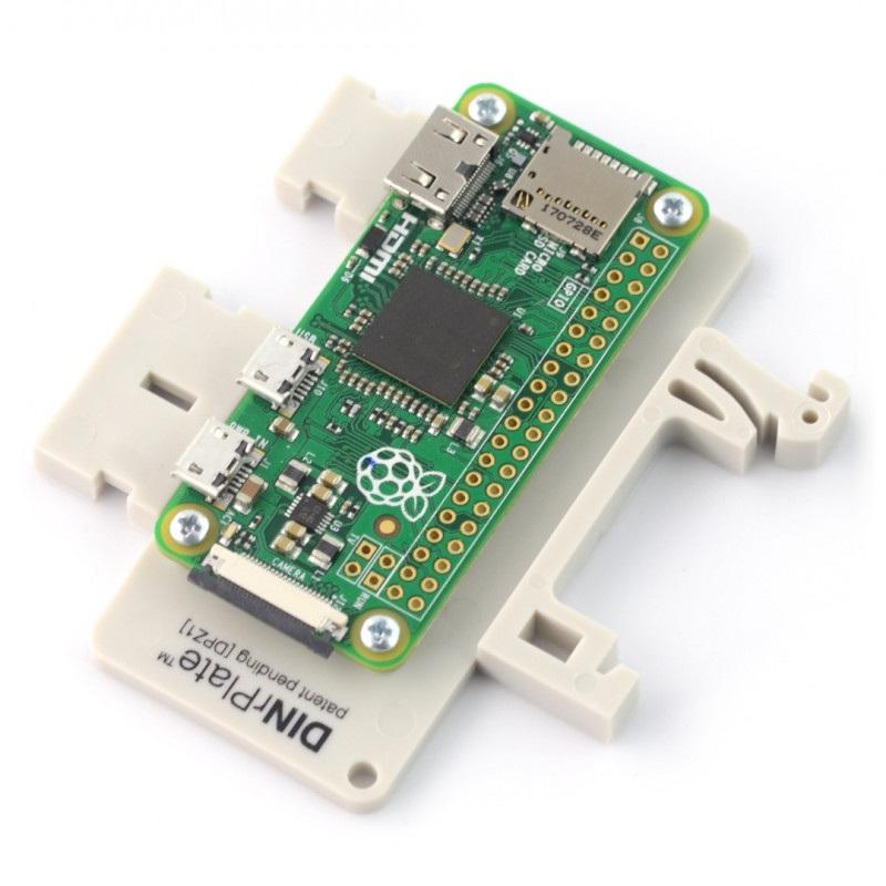 DPZ1 - mocowanie do szyny DIN dla Raspberry Zero