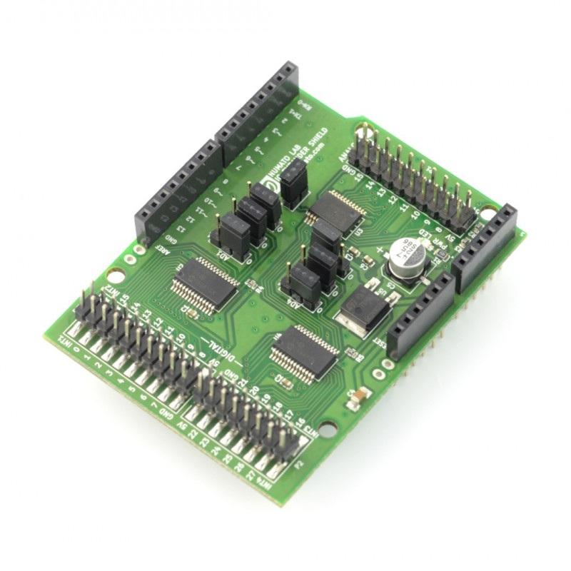 Numato Lab - Digital and Analog IO Expander Shield dla Arduino