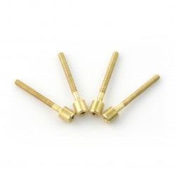 Zestaw śrubek gwintowanych M1,7 długość: 22mm - KG-CLU-001 - 4szt.