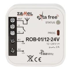 Exta Free - Radiowy odbiornik bramowy 12-24V - ROB-01