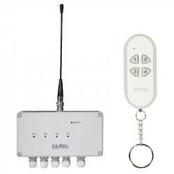 Exta Free - Radiowy wyłącznik sieciowy 4-kanałowy 230V - RWS-311C/Z + pilot