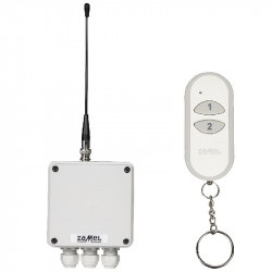 Exta Free - Radiowy wyłącznik sieciowy 2-kanałowy 230V - RWS-311D/Z + pilot