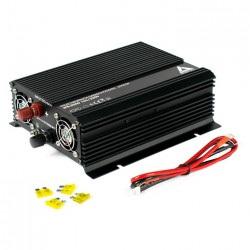 Przetwornica napięcia AZO Digital 12 VDC / 230 VAC IPS-1200D 1200W z wyświetlaczem