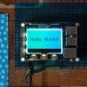 Pimoroni GFX HAT - moduł z wyświetlaczem LCD 2,15'' 128x64px z podświetleniem RGB dla Raspberry Pi - zdjęcie 4