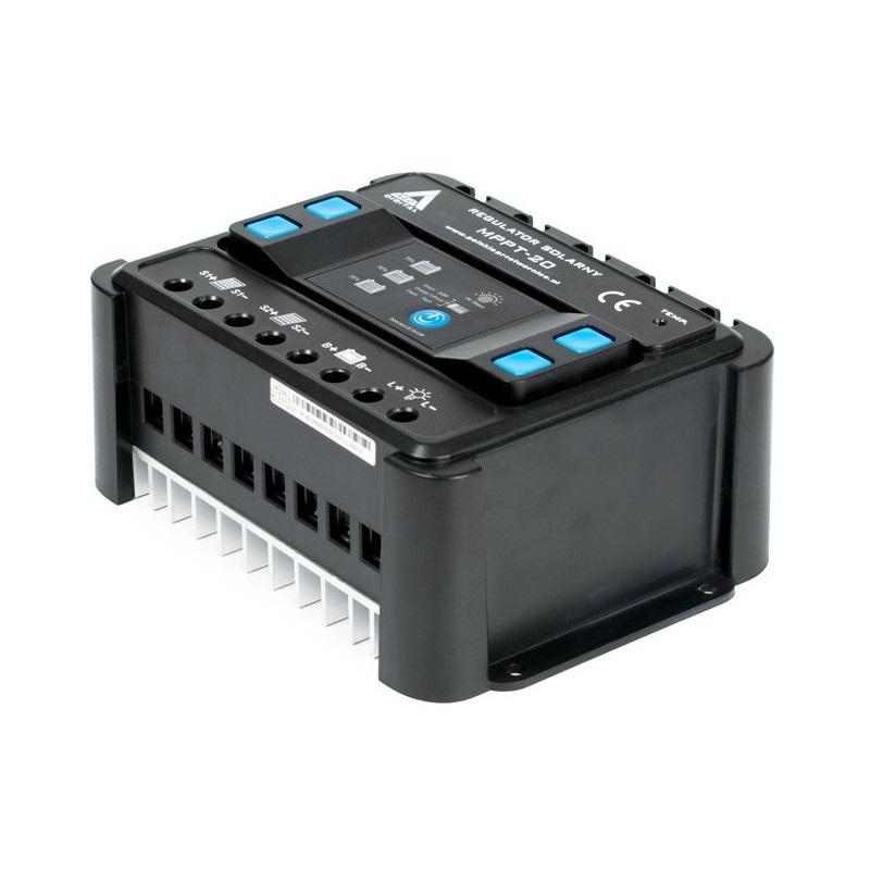 Solarny regulator ładowania AZO Digital MPPT 12/24 - 20A
