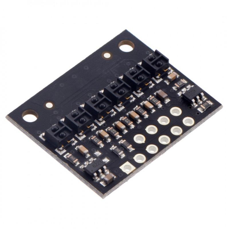 Listwa z czujnikami odbiciowymi QTRX-HD-06RC - cyfrowa