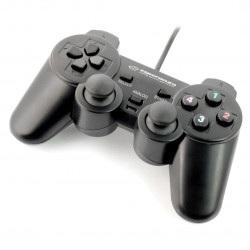 Gamepad Warrior Esperanza EG102 - czarny