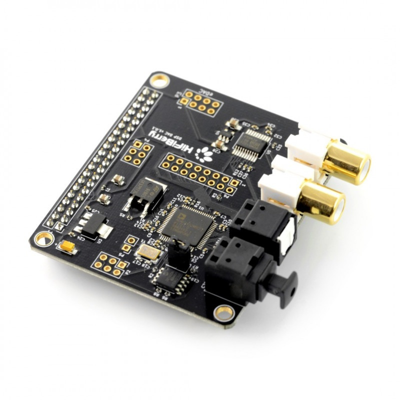 HiFiBerry DAC+ DSP - karta dźwiękowa do Raspberry Pi 3+/3/2/B+/A+/Zero